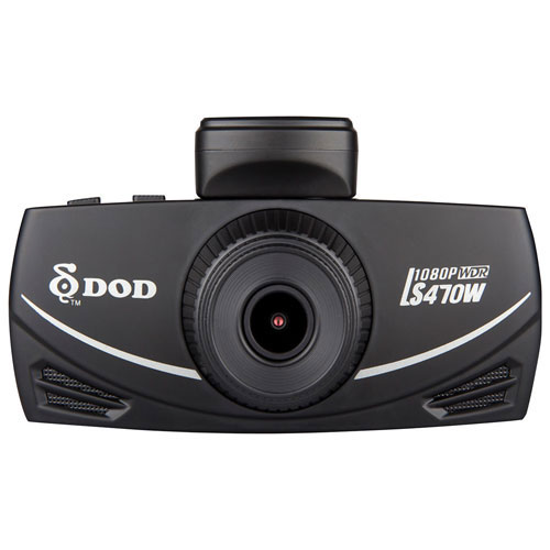 DOD 1080p Dashcam with 2.7 LCD Screen (LS470W)