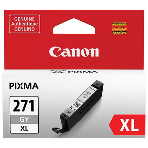 Cartouche d'encre grise CLI-271 XL de Canon