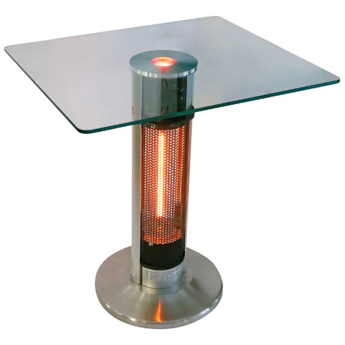 energ  outdoor table infrared heater - 5100 btu   patio heaters