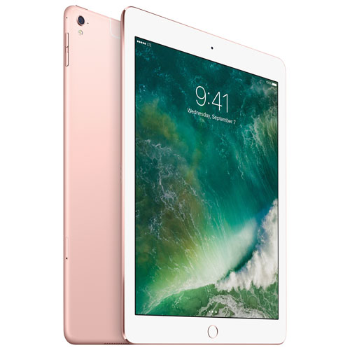 "Apple iPad Pro 9.7"" 128GB with Wi-Fi/LTE - Rose Gold"