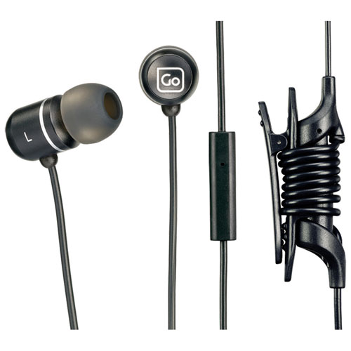 Go Travel Mobile Control In-Ear Sound Isolating Headphones (918BLK) - Black