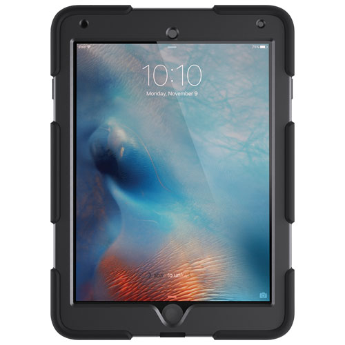 Étui Survivor All Terrain de Griffin pour iPad Pro 9,7 po/Air 2 - Noir