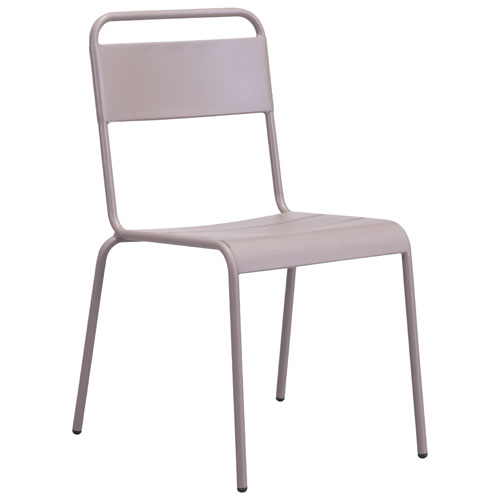 Oh Modern Patio Dining Chair - Set of 2 - Taupe
