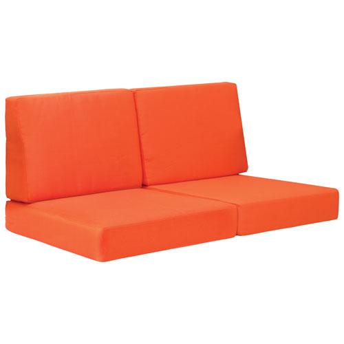 Coussins de divan modernes Cosmopolitan II - Orange