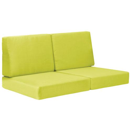 Coussins de divan modernes Cosmopolitan II - Vert