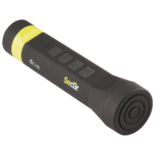 Secur Bluetooth Flashlight (SECSP5003) - Black/Yellow