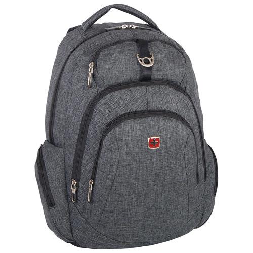 SWISSGEAR Backpack - Grey : Backpacks - Best Buy Canada