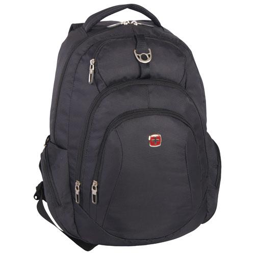 e1cca8f4de SWISSGEAR Backpack - Black   Backpacks - Best Buy Canada
