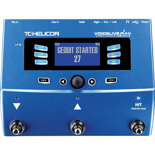 TC-Helicon VoiceLive Play Pedal