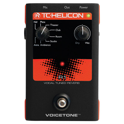 TC-Helicon VoiceTone R1 Vocal Pedal