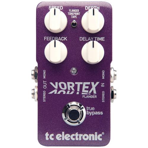 Pédale de guitare Vortex Flanger de TC Electronic