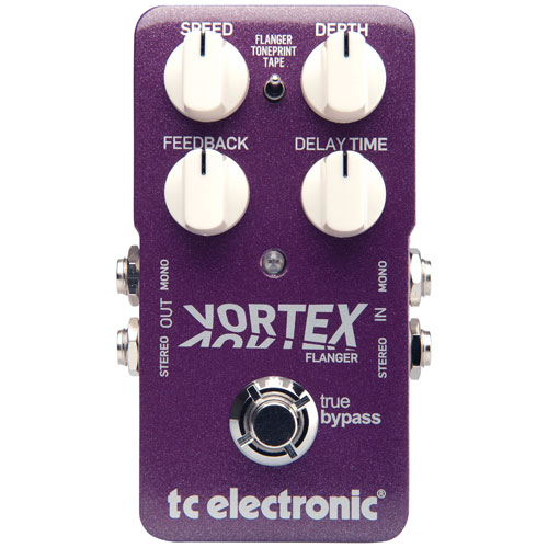 TC Electronic Vortex Flanger Guitar Pedal
