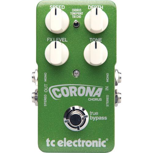 Pédale de choeur pour guitare Corona de TC Electronic