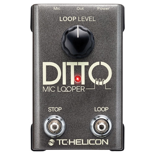 TC Electronic Ditto Mic Looper Guitar Pedal