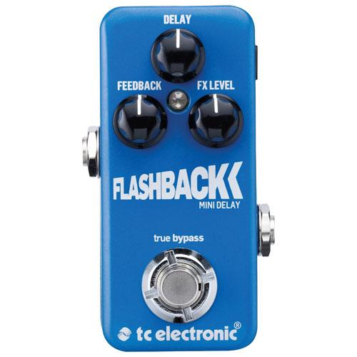 Pédale de guitare Flashback Mini Delay de TC Electronic