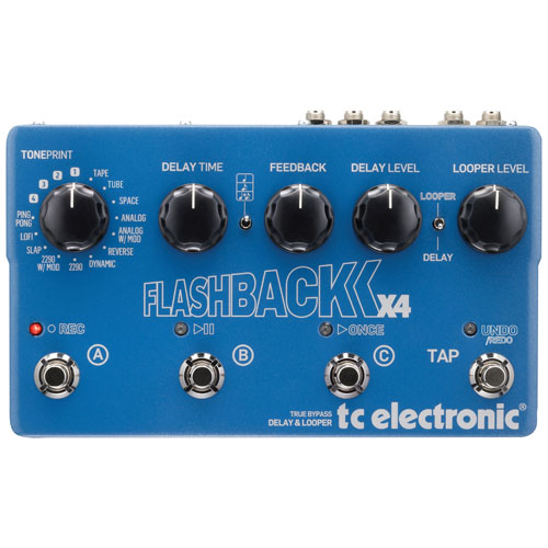 TC Electronic Flashback X4 Guitar Pedal