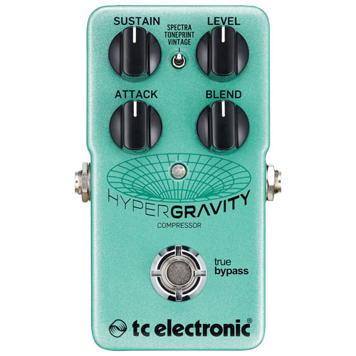 TC Electronic Hyper Gravity Compressor Guitar Pedal
