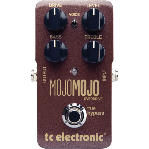 Pédale d'overdrive pour guitare MojoMojo de TC Electronic