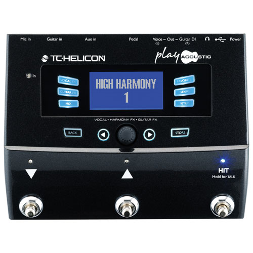 TC-Helicon Play Acoustic Effects Pedal