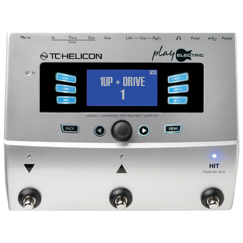 TC-Helicon Play Electric Pedal