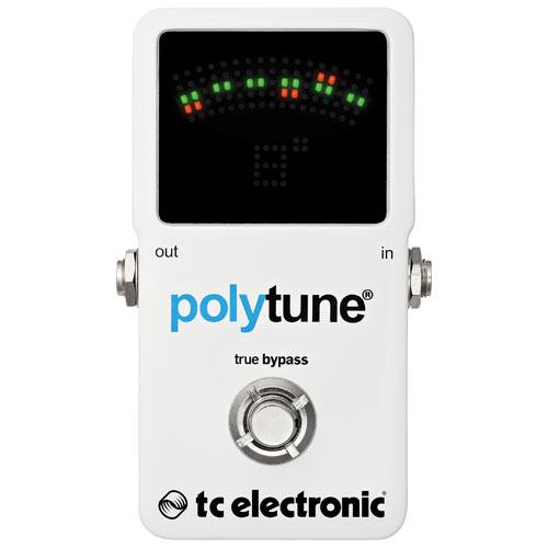 TC Electronic PolyTune 2 Guitar Pedal