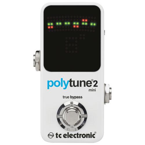 TC Electronic PolyTune 2 Mini Guitar Pedal