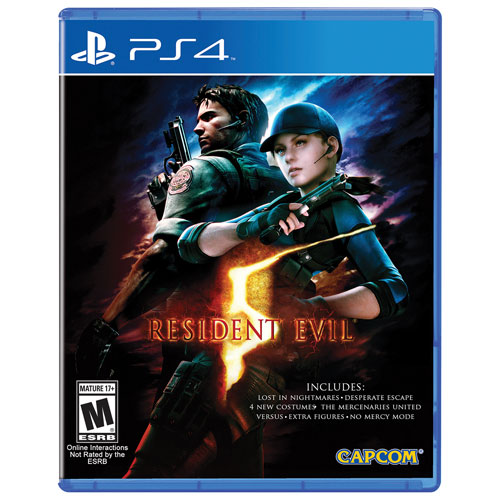 Resident Evil 5 (PS4) - Previously Played