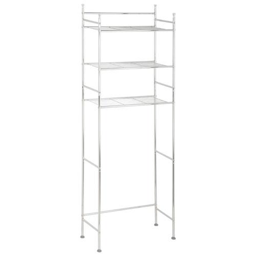 Honey-Can-Do 3-Tier Bathroom Space Saver Shelf - Chrome