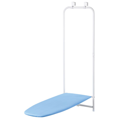Honey-Can-Do Over-the-Door Ironing Board - Blue/White