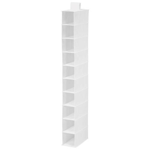 Honey Can Do 10 Shelf Closet Organizer   White