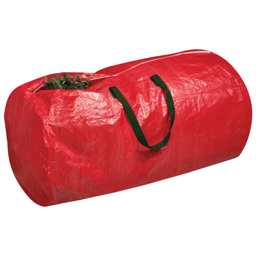 Honey-Can-Do 10 ft. Artificial Tree Storage Bag - Red
