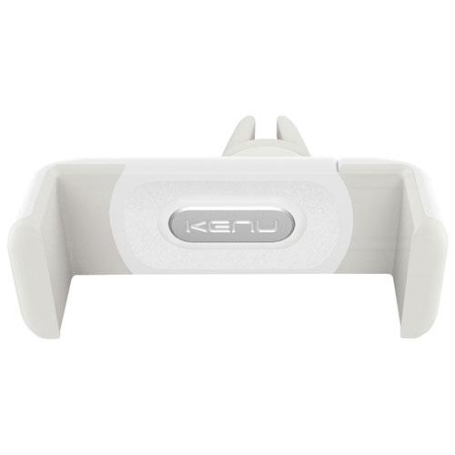 Support d'auto pour téléphone intelligent Airframe+ de Kenu - Blanc