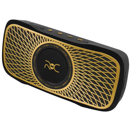Monster ROC Sport Bluetooth Portable Speaker - Black/Gold