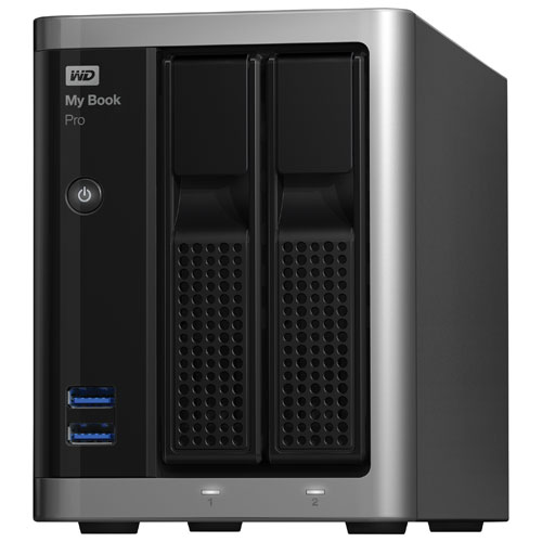 WD My Book Pro 8TB USB 3.0 Desktop External Hard Drive (WDBDTB0080JSL-NESN)