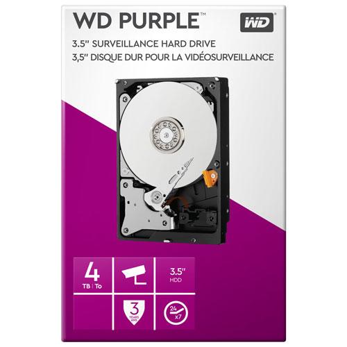"WD Purple 4TB 3.5"" Surveillance Storage Drive (WDBGKN0040HNC-NRSN)"