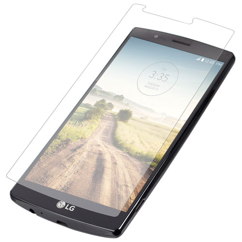 InvisibleShield by ZAGG LG G4 HD Glass Front Screen Protector (LG4GLS-F0F)