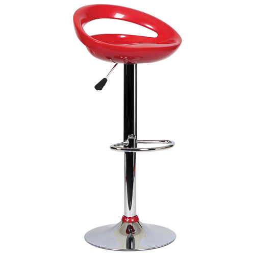 Tabouret de bar contemporain hauteur de bar rouge tabourets de bar best buy canada for Tabouret bar contemporain