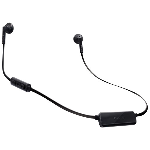 Philips MyJam FreshTones In-Ear Wireless Headphones (SHB5250BK/27) - Black