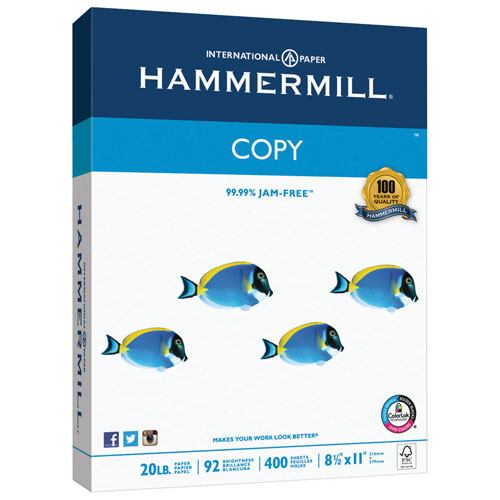 "Hammermill 400-Sheet 8.5"" x 11"" Multipurpose Paper"