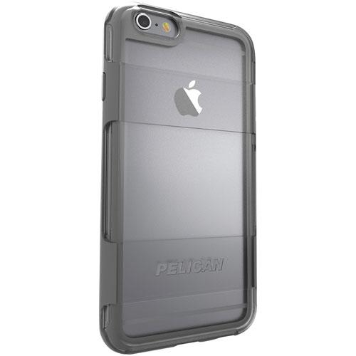 Étui-coque rigide ajusté Adventurer de Pelican pour iPhone 6/6s - Gris