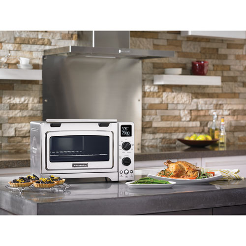 Combination toaster oven and toaster