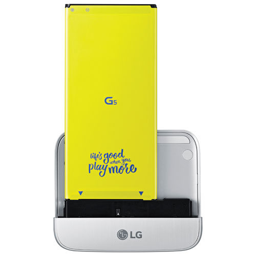 LG CAM Plus for LG G5 Smartphone - Silver
