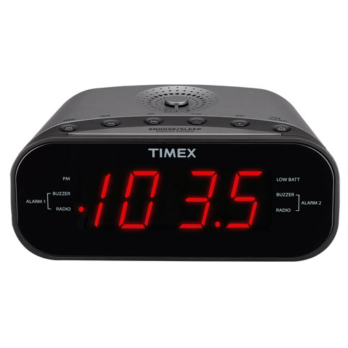 Radio-réveil de Timex - Bronze industriel
