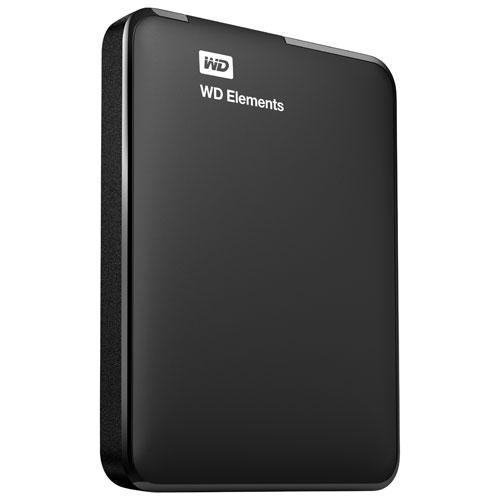 Disque dur externe de bureau USB 3.0 de 2 To Elements de WD (WDBU6Y0020BBK-EESN)