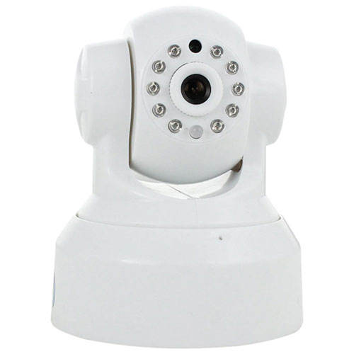 SkylinkNet Wireless Indoor 720p HD IP Camera (WC-400PH) - White