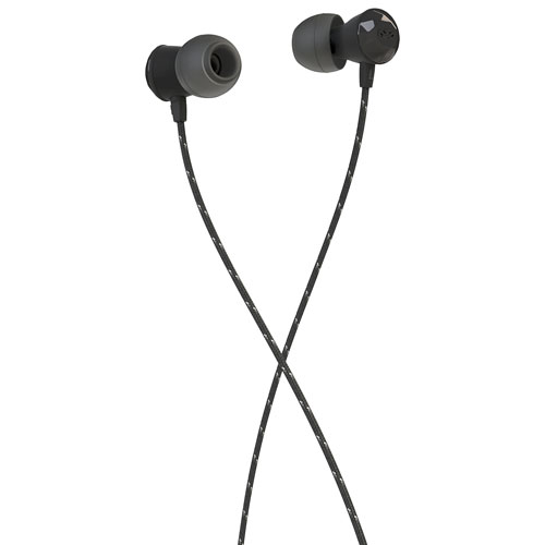 House of Marley Nesta In-Ear Sound Isolating Headphones with Mic - Hematite