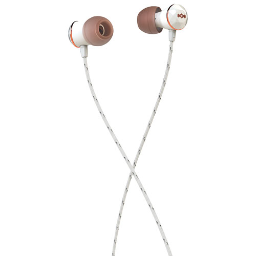 House of Marley Nesta In-Ear Sound Isolating Headphones with Mic - Rose Gold