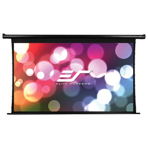 Écran de projection motorisé de 100 po et format 16:9 Spectrum Tab-Tension d'Elite Screens