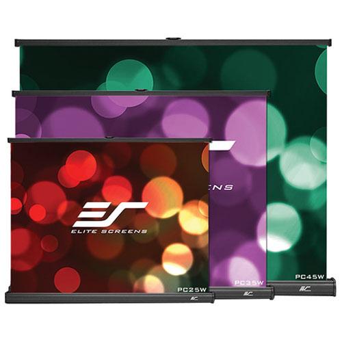 "Elite Screens PicoScreen 35"" 4:3 Portable Manual Projector Screen"