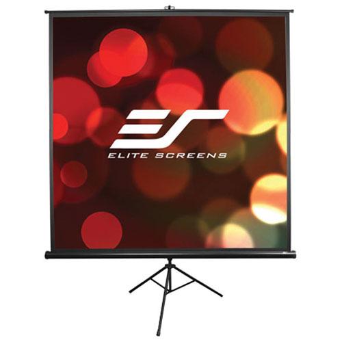 """Elite Screens 119"""" 1:1 Portable Manual Projector Screen"""